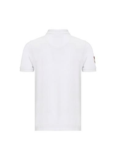 Routefield Tişört Beyaz